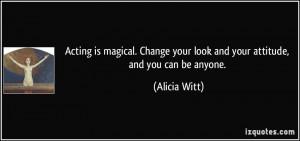 Alicia Witt Quote