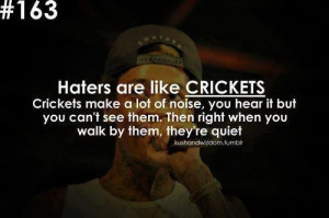 Don't be a hater...