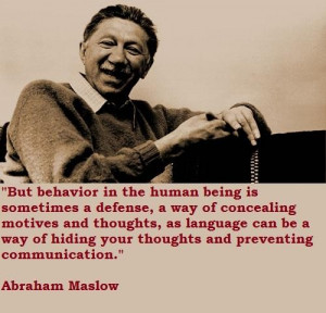 Abraham maslow famous quotes 3