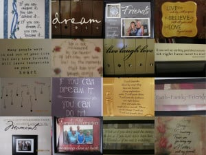 So, come on into my home and read some of my favorite QUOTES ...