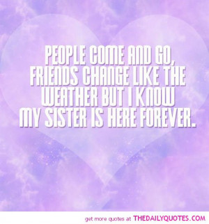 Sisters Forever Quotes And Sayings
