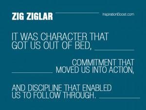 Discipline quotes – Zig Ziglar