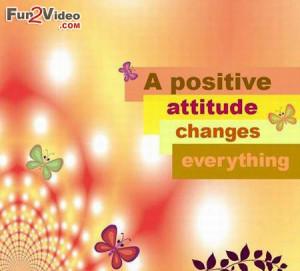 Positive Attitude Wise Quote