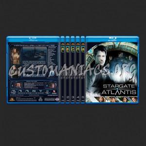 Stargate Atlantis blu-ray cover