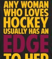 women + hockey