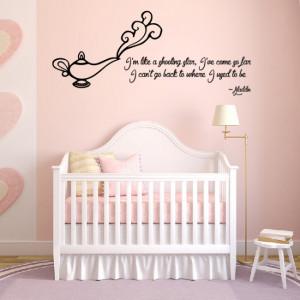 Home / Aladdin Princess Jasmine Wall Sticker Quote Wall Art