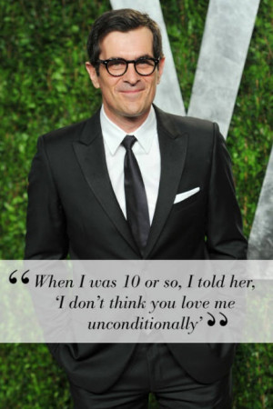 BOY ELLE: What did you do that broke your mom's heart most? Ty Burrell ...