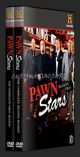 ... posts pawn stars dvd cover share this link pawn stars seasons 1 and 2
