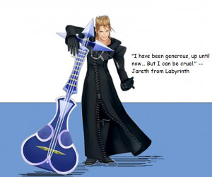 jareth bowie labyrinth quote kingdom hearts photo: Demyx's movie quote ...