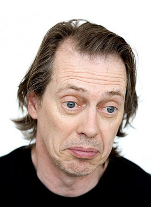 STEVE BUSCEMI...look at his eyes...