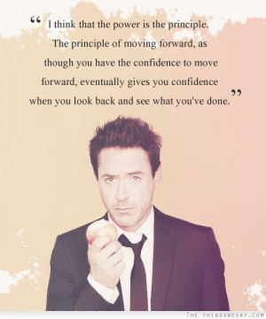 think that the power is the principle the principle of moving ...