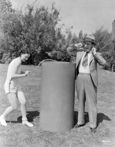 Maureen O´Sullivan and Jimmy Durante ~ 4th of July 1932 More