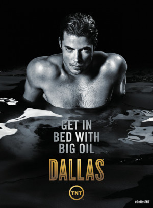 Jesse Metcalfe, Josh Henderson steamy Dallas posters
