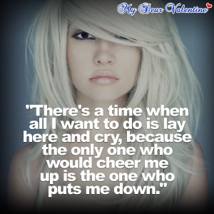 Quotes About Wanting To Cry All I Want Is You Quot...