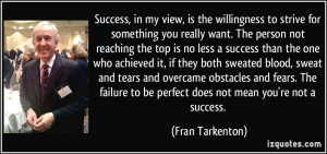 More Fran Tarkenton Quotes