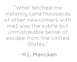Mencken quote on San Francisco