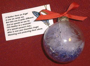 christmas angel ball craft | Angel Feather Quotes http://www ...