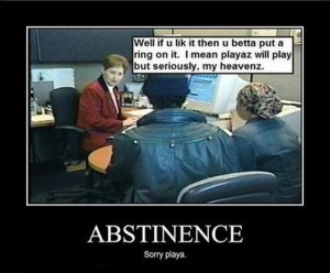 Abstinence only reunion