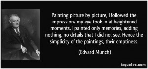 More Edvard Munch Quotes