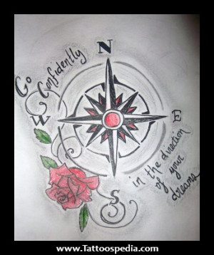 ... %20With%20A%20Compass%20Tattoo%201 Quotes To Go With A Compass Tattoo