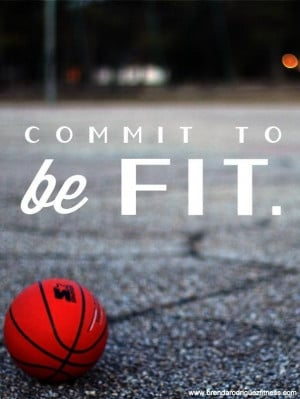 Commit to be fit!