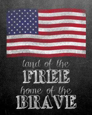 ... quotes patriotic american flag 4th of July land of the free home of