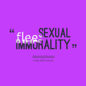 flee sexual immorality quotes from jowee anne caluya published at 05 ...