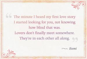 Love, true love...