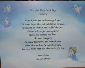 baby boy poems and quotes