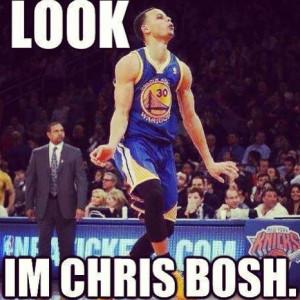 HAHAHAHAHA, Stephen Curry!