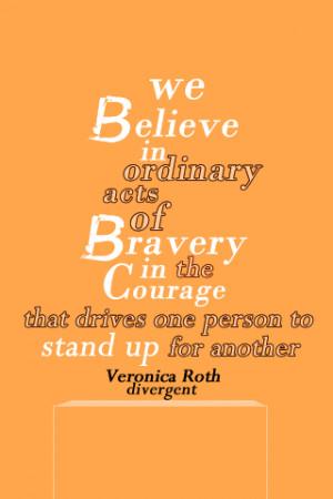 Veronica Roth Quotes Divergent Divergent quote.