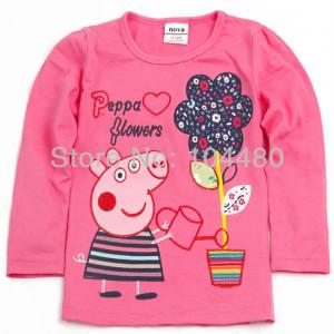 funny-design-baby-girls-shirts-comfy-kids-girls-pure-cotton-t-shirts ...