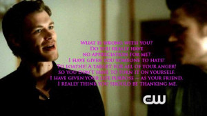 ... Mikaelson Quotes - Vampire Diaries Season 3 - Best Character Quotes