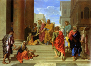 Acts of the Apostles Photo: Peter And John Perform Some Miracles