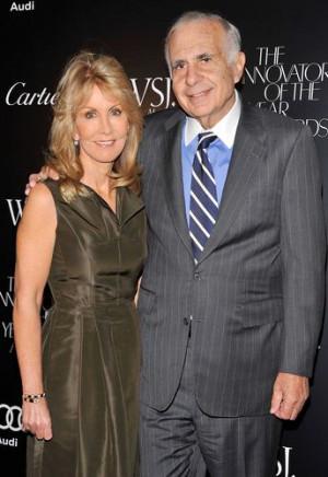 Carl Icahn Wife Gail