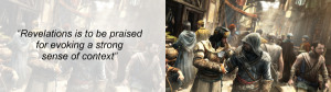 Assassin's Creed Revelations Review Quote 2