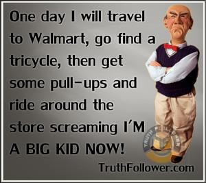 Travel to Walmart - Fun Quotes/Saying