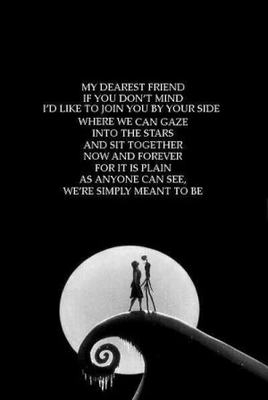 Jack skellington quote.