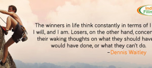 Difference Between Winners and Losers, Business quote, motivational