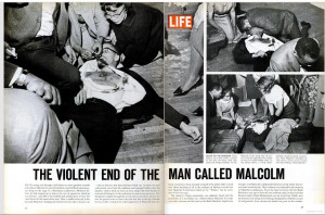 ... Malcolm X.(see related — Eve Arnold: Malcolm X and the Nation of
