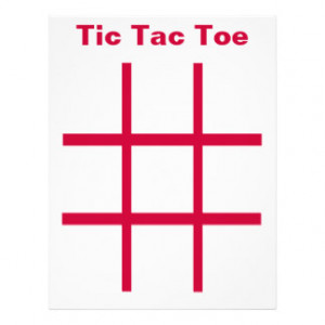 It is a graphic of Old Fashioned Tic Tac Toe Board Template