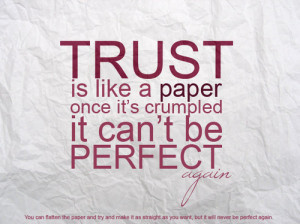 Wise Saying on Trust