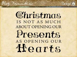 Wednesday SayingZ   Christmas Hearts