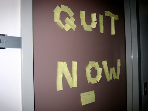 How to Know When to Quit