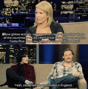Funny photos funny Chelsea Handler dumb question