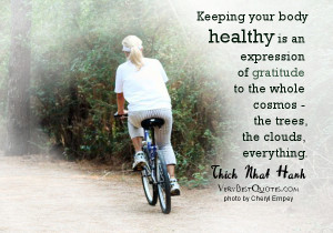 Healthy body quotes, gratitude quotes - Keeping your body healthy is ...