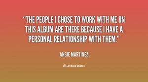 Angie Martinez Quotes