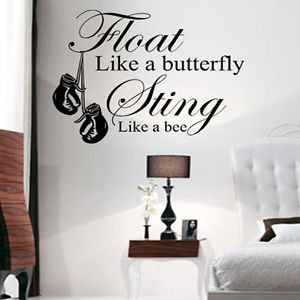 MUHAMMAD-ALI-WALL-ART-QUOTE-STICKER-DECAL-FLOAT-LIKE-A-BUTTERFLY-GYM ...
