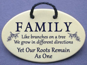 ... sayings and quotes for family reunions, photo walls, and extended