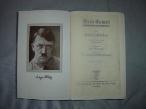 Mein Kampf Adolf hitler's mein kampf